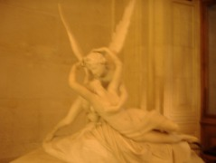 Psyche Revived by Cupid's Kiss, created by Antonio Canova in 1793 Photo taken by Josie Campbell in 2005