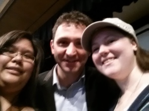 With Kim and Jonathan Stroud