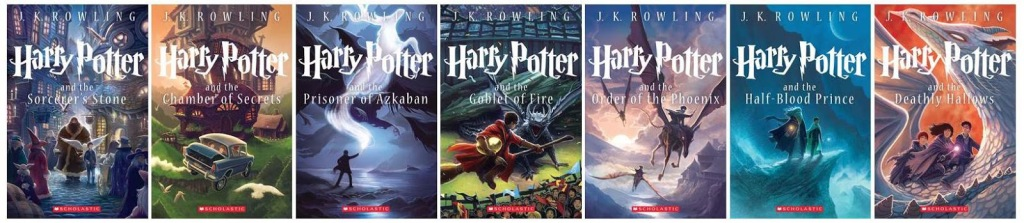 Harry Potter Series Anniversary Covers