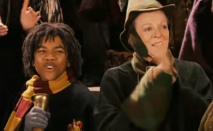 Lee Jordan and McGonagall