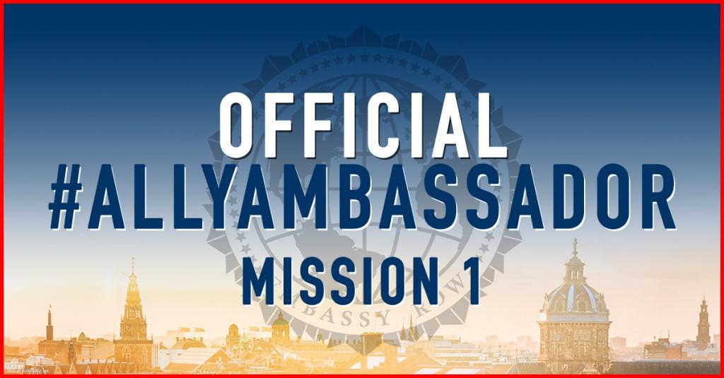 Ally Ambassador Mission 1