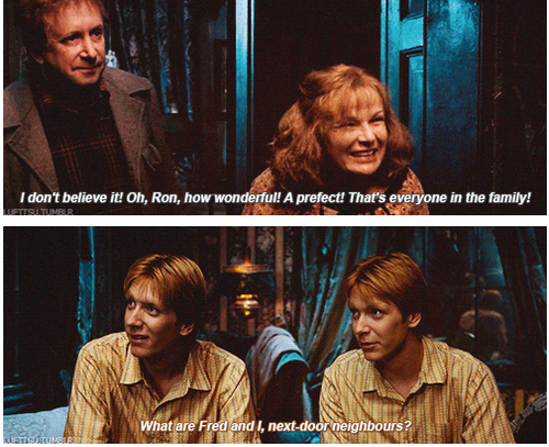 fred and george humor