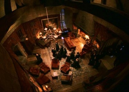 Gryffindor common room 1