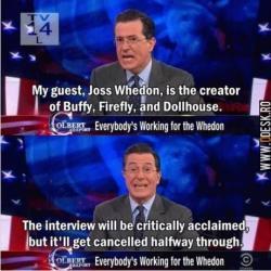 Joss on Colbert