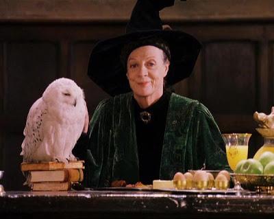 McGonagall and Hedwig