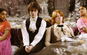 Harry and Ron Yule Ball